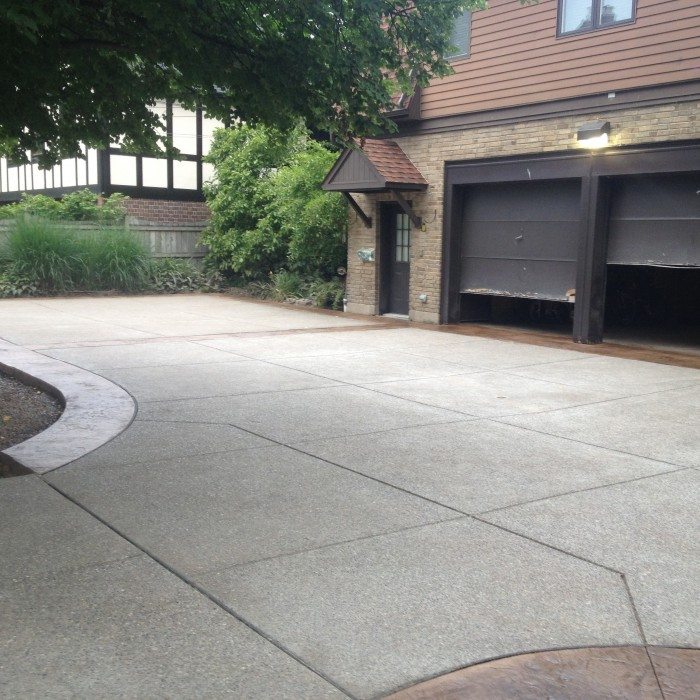 Driveway – Exposed Aggregate
