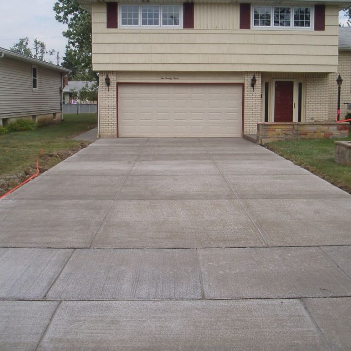 Concrete Driveways – Stamped