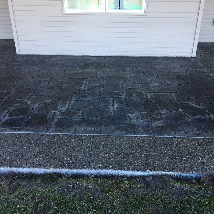 Exposed Aggregate U0026 Stamped Concrete Patio