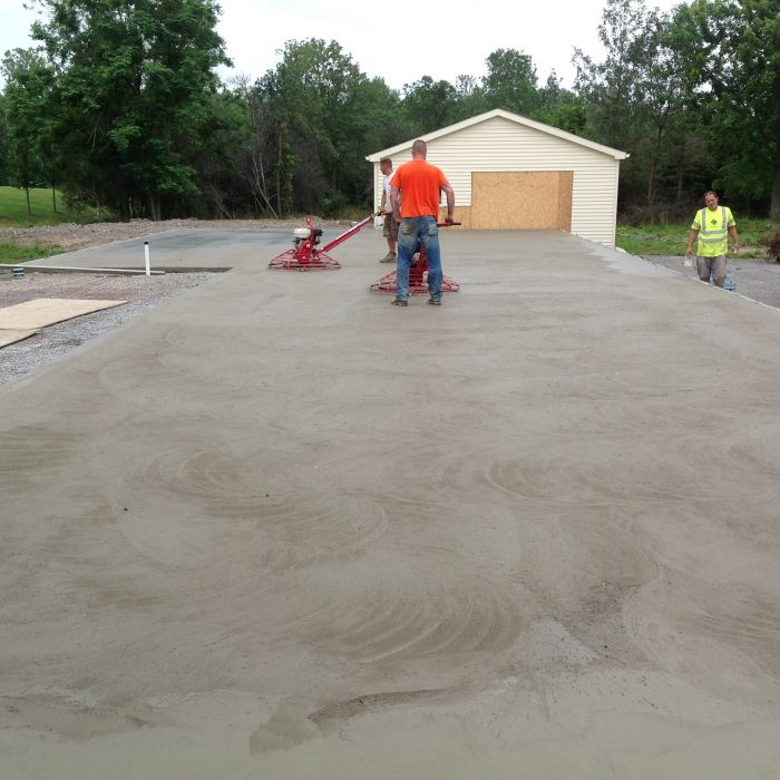 Commercial Concrete Work – Slab