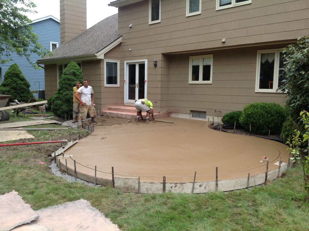 Superieur Stamped Concrete Patio Amherst