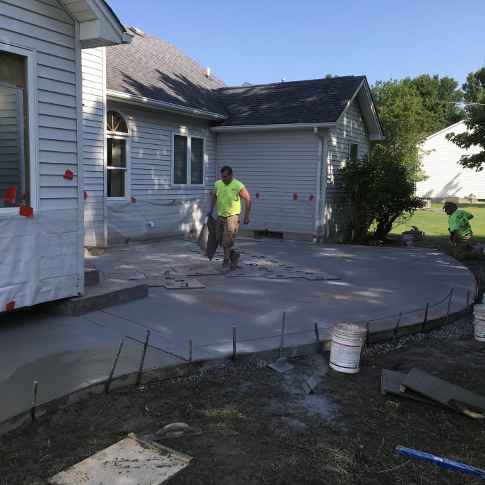 Stamped Patio – Pendelton