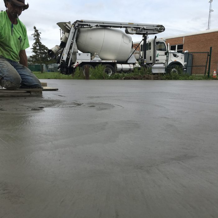 Commercial Concrete Pad – East Aurora