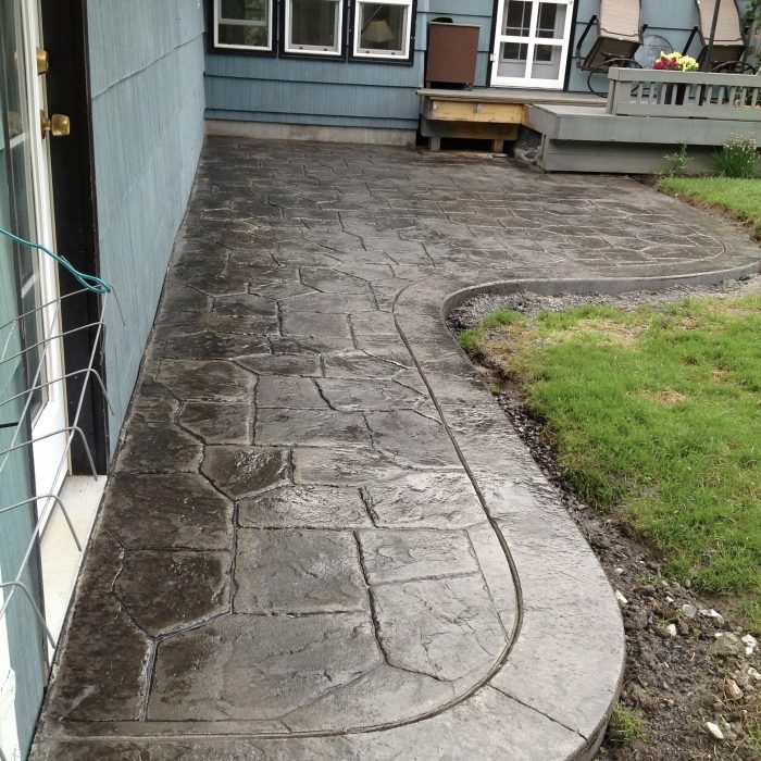 Stamped Patio Small Clarence