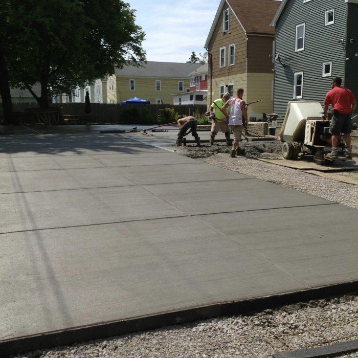 Concrete garage Pad & Driveway South Buffalo