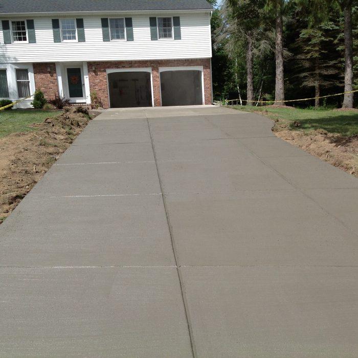 Concrete Driveway Orchard Park