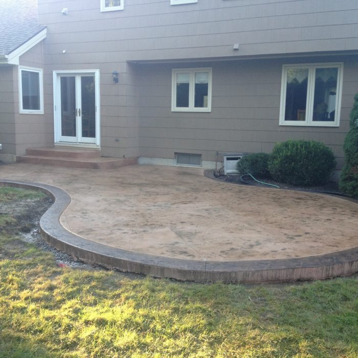 Stamped Concrete Patio Amherst