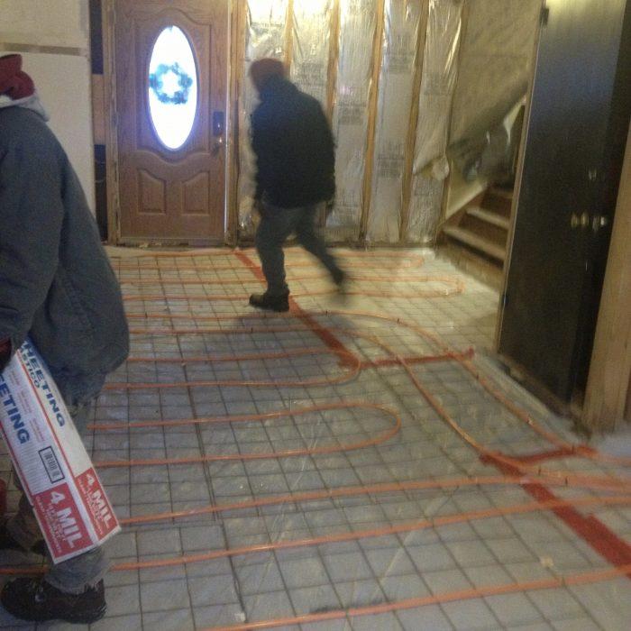 Interior Heated Floors