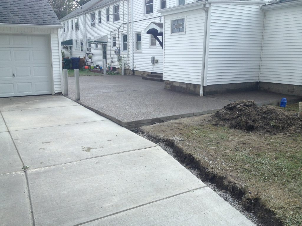 Concrete Driveway Amp Exposed Aggregate Patio South Buffalo