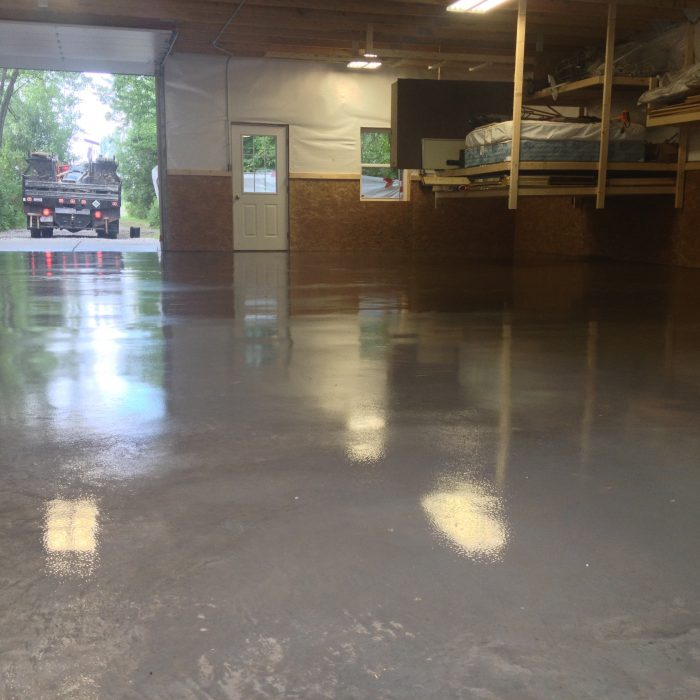 Concrete Barn Floor