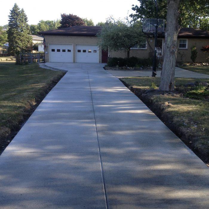 Concrete Driveway West Seneca