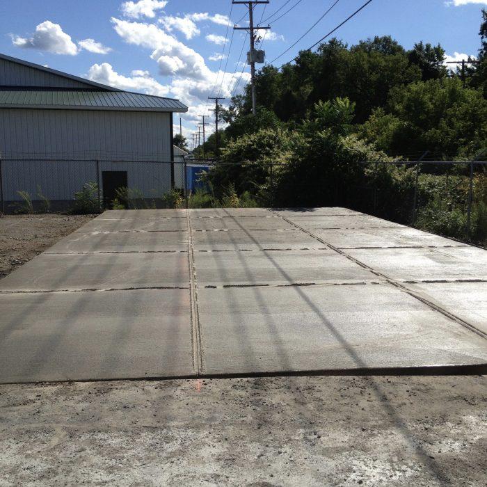 Commercial Concrete Pad – Springville