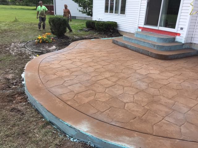 Photos – Stamped Concrete | Concrete Driveways – Stamped Concrete ...